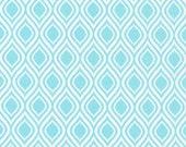 SALE fabric, Christmas fabric, Tribal fabric Metro Living Mod Stencil fabric- Mod Stencil in Aqua- Choose The Cut. Free Shipping Available