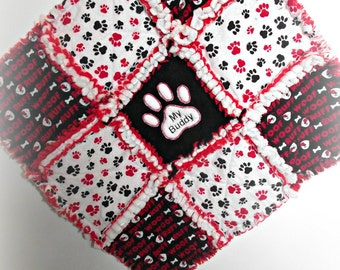 "Rag Quilt for Pets ""My Buddy"" Security Blanket"