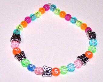 If You Seek Amy bracelet with silvery butterflies