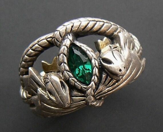 emerald gemstone engagement rings aragorn s ring of