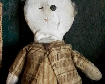 Ione Fields a Very Primitive Doll