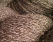 Perfectly Lovely Brown Moorit Shetland Romney Wool Yarn