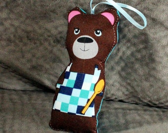 Stuffed Ornament  - Mamma Bear