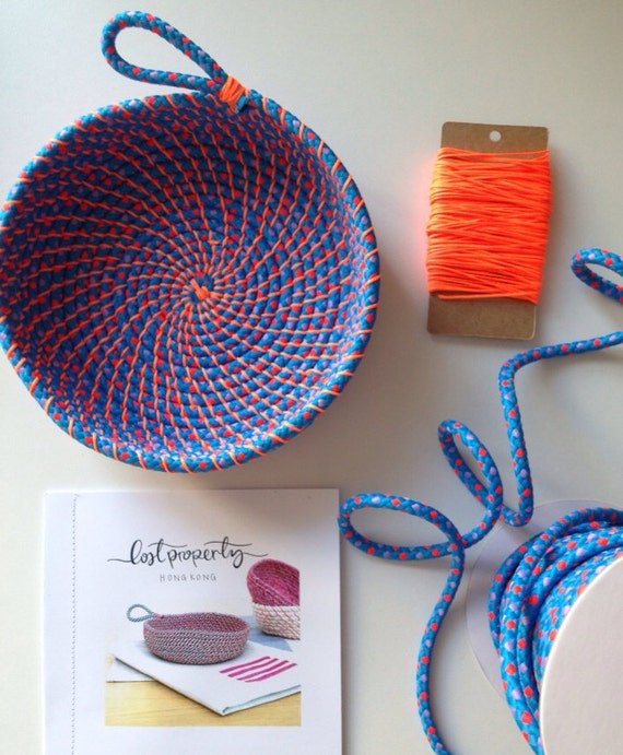 Basket Making Materials : Coil rope bowl tutorial and materials woven basket