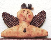 Instant Download PRIMITIVE ANGEL PATTERN Freedom Angel Everyday Angel Holiday Quick and Easy
