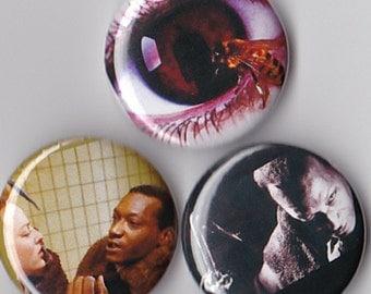 3 Candyman Pinback Buttons