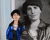 Anna Freud Psychiatry Doll Miniature Unique Art