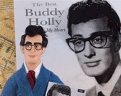 Buddy Holly Doll Miniature 1950's Era Art Character