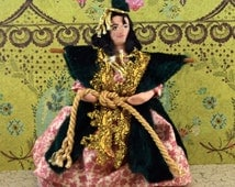 Carol Burnett as Scarlett O Hara Miniature Comedian Doll Art