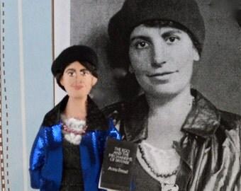 Anna Freud Psychiatry Doll Miniature Unique Art