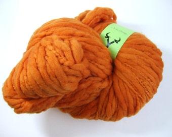 Thick & Thin Bulky Weight Yarn - Pumpkin