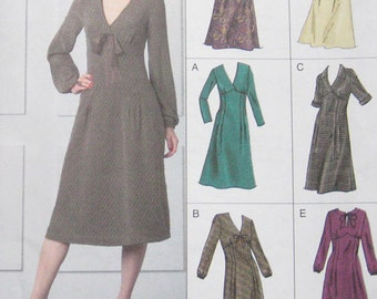 Vogue Easy Options Dress Pattern V8108