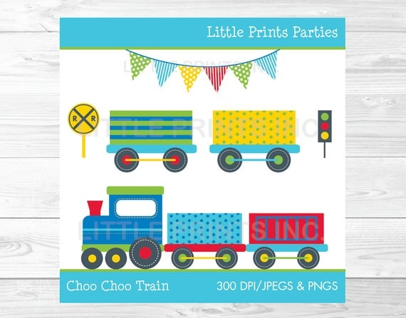 Choo Choo Train Clipart