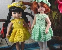 Crochet pattern for 10 inch dolls-lacy dress