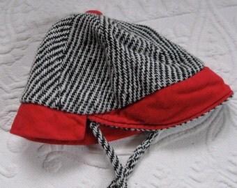 Baby Boy Hat . Retro Baby Boy Riding Hat . Vintage Baby Boy Riding Hat . retro child hat