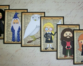 Harry Potter JOURNALS - Shipping included - Personalized Party favors -  Choice of quantities and characters - HPJ 777564