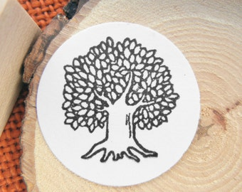 SALE Tree Rubber Stamp - Handmade by BlossomStamps