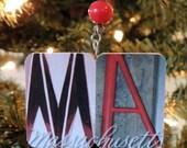 Boston University (MA) keepsake/ornament