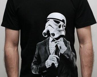 Storm trooper Smarttrooper - Mens t shirt ( Star Wars / Stormtrooper t shirt )