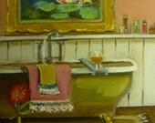 Clawfeet and Cognac Fine Art Print