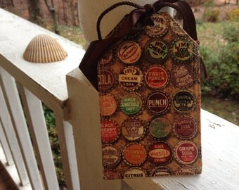 Luggage Tags/Bottle caps