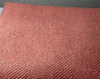 Peach Colored Thick Fabric by the yard  60 inches wide