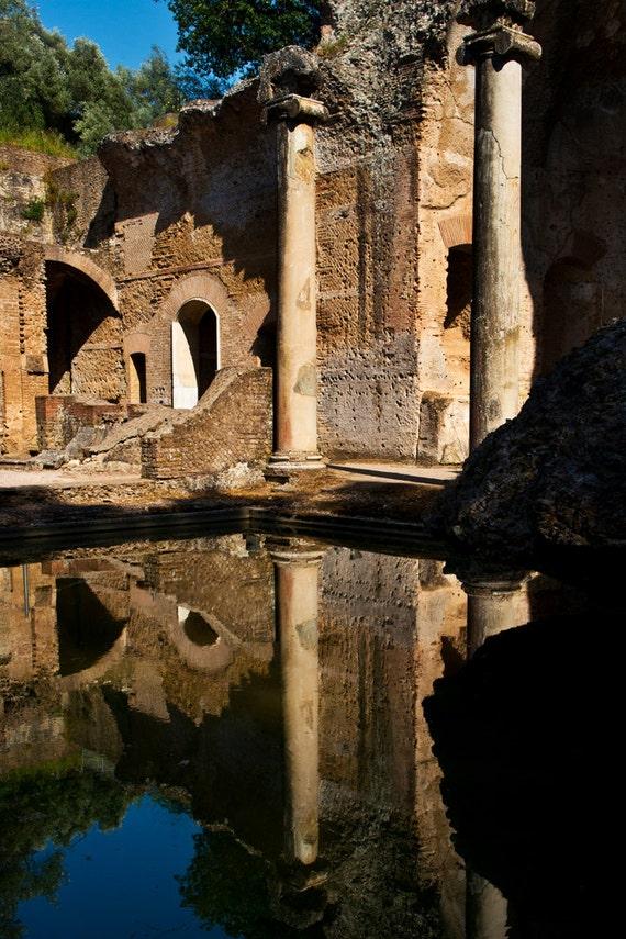Ruins At Hadrian's Villa II  Archival Print