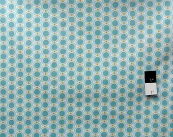 Joel Dewberry JD32 Heirloom Acorn Chain Pond Cotton Fabric 1 Yard
