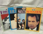 Set of 4 Booklets from Newsweek - The Forties, Fifties, Sixties and Seventies