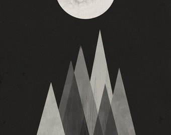 Lunar eclipse big print