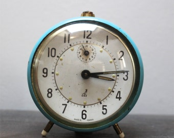 SALE French vintage Jaz alarm clock, vintage decor