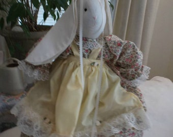Handmade Stuffed Bunny Rabbit