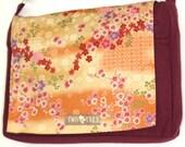 Floral Cherry BLOSSOM Japanese MESSENGER ipad Laptop Diaper BAG