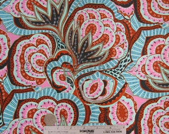 "25"" Amy Butler OASIS River Stone Ab124 Cotton Quilt Fabric - HAPI Cotton Collection - Last Piece 25""L x 44""W"