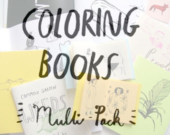 Coloring books, multi pack