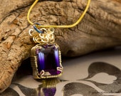 Royal - Faceted Ametrine in Gold FIlled Wire