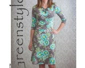 Katie Dress and Peplum PDF Sewing Pattern in sizes XXS up to 3XL