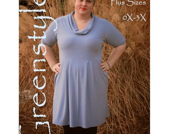 PLUS Size Laurel Dress/Tunic PDF Sewing Pattern