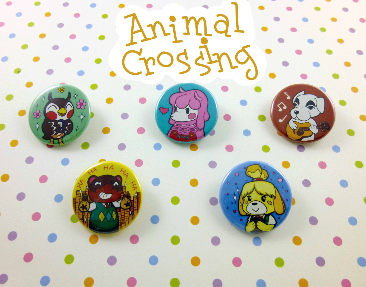 Animal Crossing Buttons Animal Crossing New Leaf Characters