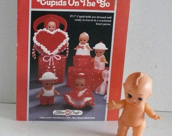 Kewpie Doll and Knitting Instructions for Girl Boy Valentine Kewpie  Doll Clothes -