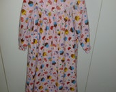 Sale Last One Cupcake Girls Flannel Nightgown size 6