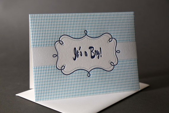 "Retro Frame ""It's A Boy"""