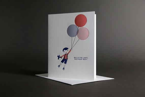 Boy Birthday Balloon