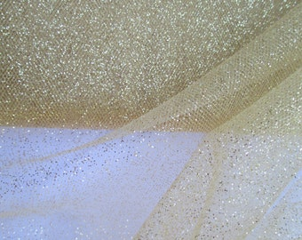 Glitter Tulle   2 Yards   54 Inches Wide  Costumesetc  Glitter Fabric