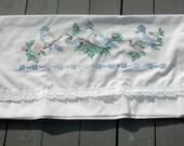 Sew Pretty Pillowcases - Bluebirds - Set of 2