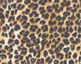 Amazon Sand Animal Cheetah Leopard fabric | Home Dec Cotton | Premier Prints