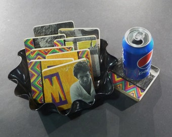 Ted Nugent Recycled Album Coasters And Warped By