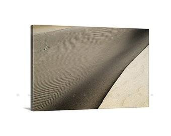 Desert Photography, Sand Dunes, Giclee, Ready to Hang, Nature Photography, Desert Art, Glamis Dunes, Mojave Desert, Canvas Print