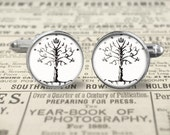 Tree of Gondor LOtR Cuff Links
