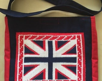Union Jack sweater bag